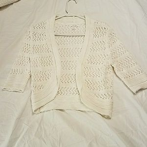 Maurices Cropped Cardigan NWOT